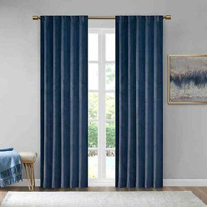 510 Design Colt Velvet 37 in x 84 in Curtains